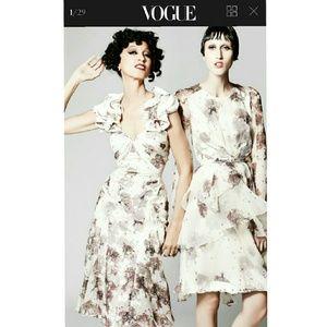 NWT Zac Posen Floral Dress